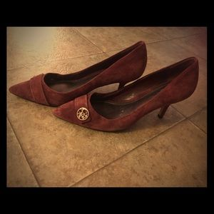 Coach medium high heels